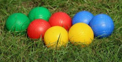 pelotas de petanca niños