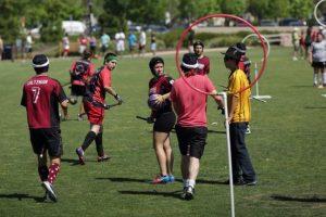 jugadores en el quidditch