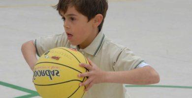 pelota de basquet niños
