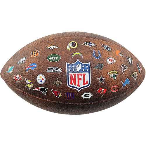 pelota de futbol americano wilson throwback 32